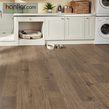 Hanflor Bevel Edge Semi Matt Click Lock Vinyl Flooring
