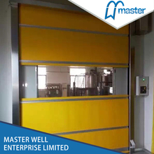 Remote Control Industrial Automatic Roll-up Revolving Door