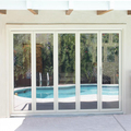 High Quality Aluminum Frame Bifolding Doors Bi-Folding Glass Doors