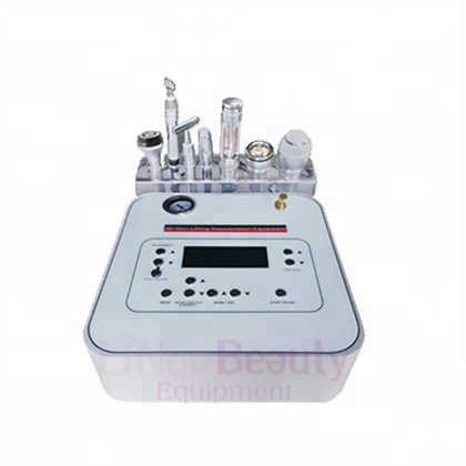 7 in 1 Galvanic Salon Use <strong>Eyes</strong> Lifting RF Diamond dermabrasion Vacuum Beauty Machine