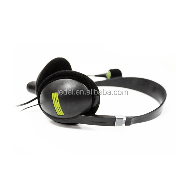 Headsets Portable Wired Headphone Stereo Sound Noise Reduction Headband Earphone With Mic For Computers
