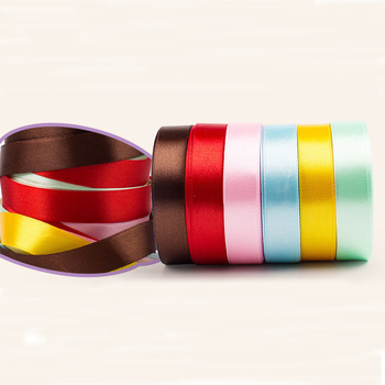 Factory Wholesale double faced satin ribbon