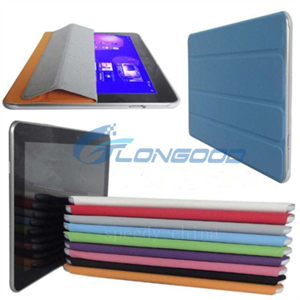 Smart Slim Leather protective case for samsung galaxy tab 10.1 P7510 P7500