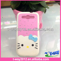 Good selling hello kitty case for samsung galaxy s3 i9300