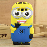 new product for cell phone case cute 3D cartoon soft silicone covers with high quality