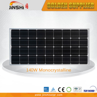 photovoltaic solar cell panel 140w hot sale