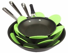 Assorted Sizes Felt Pot and Pan Protector Protectors for Non Stick Pans To Avoid Scratching