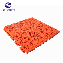 Anti-slip Cheap Plastic Raw Material Prices Mobile Basketball Court Flooring