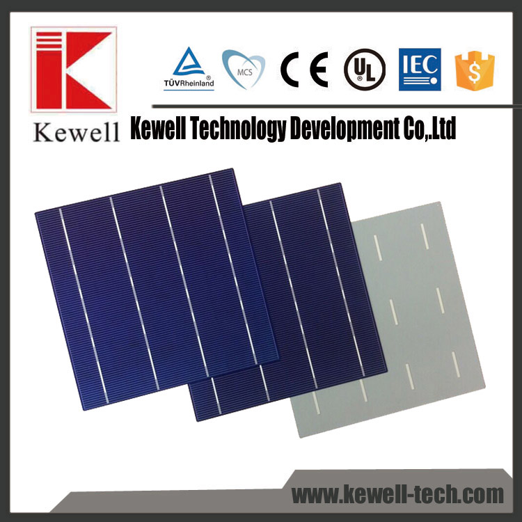 wholesale A grade and B grade 3bb polycrystalline pv silicon solar cell price made in Taiwan