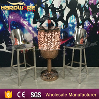 LED light furniture night club round illuminated led Bar