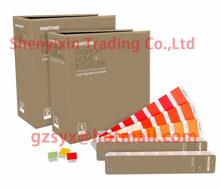 PANTONE TPG FHIP200 FASHION HOME INTERIORS FHI Color Specifier And Guide