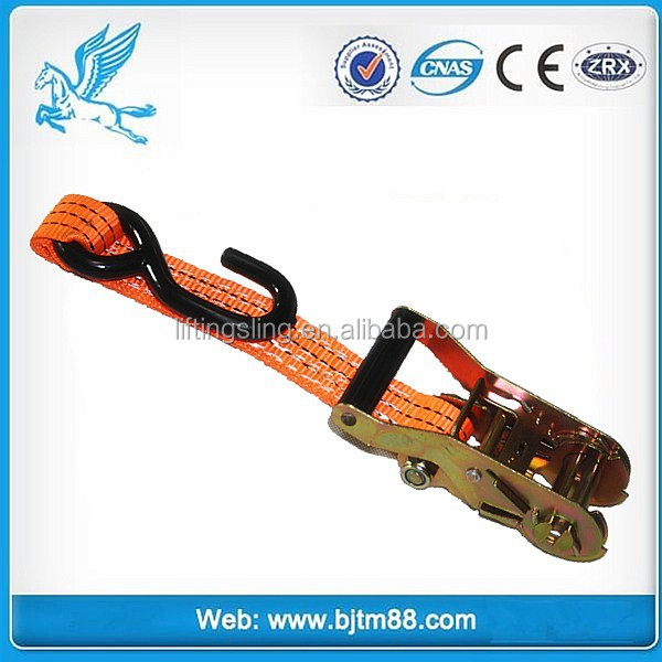 CE GS Elastic Tie Down Strap Ratchet lashing straps