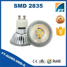 Glass gu10 led home lighting 5w gu10 led bulbs, cob 4w gu10