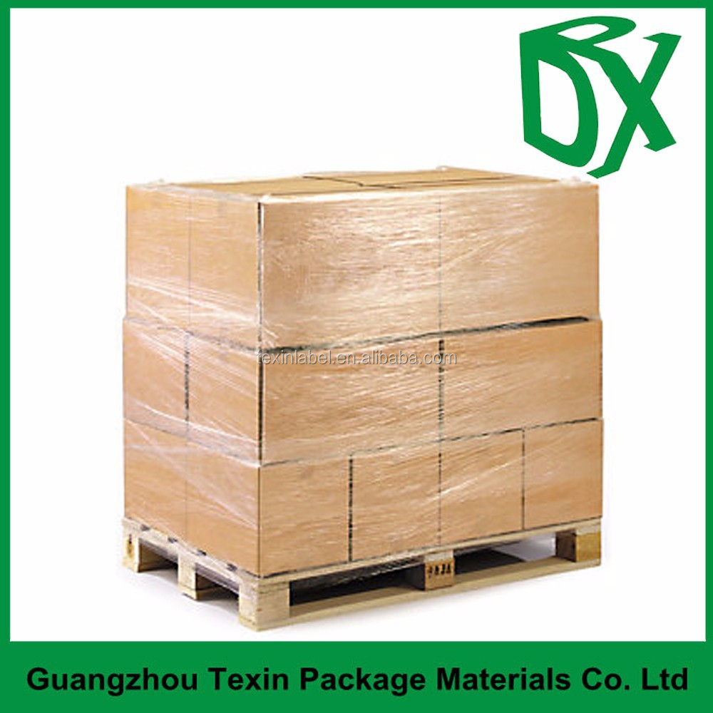 PE clear 23 micron strech film for pallet shrink wrap film