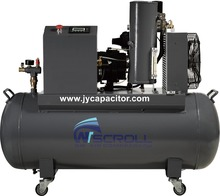 oil-less scroll air compressor with tank bare 3hp 2.2kw no noise