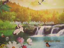 2017 new produced Oil-painted wallpaper, digital printable wall paper