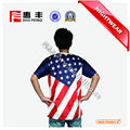 China Manufacturing Custom Design Sublimation Men's T Shirt cheap price fashion men custom logo tshirts printing