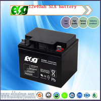 Rechargeable 12v battery 12v40AH ups solar battery Deep cycle battery