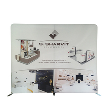 Ipad Stand Flex Banner Outdoor Print Advertising Sign Event Display Straight Fabric Backdrop