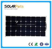 High Quality flexible Solar Module 100w Solar Panel for RV Boat marine
