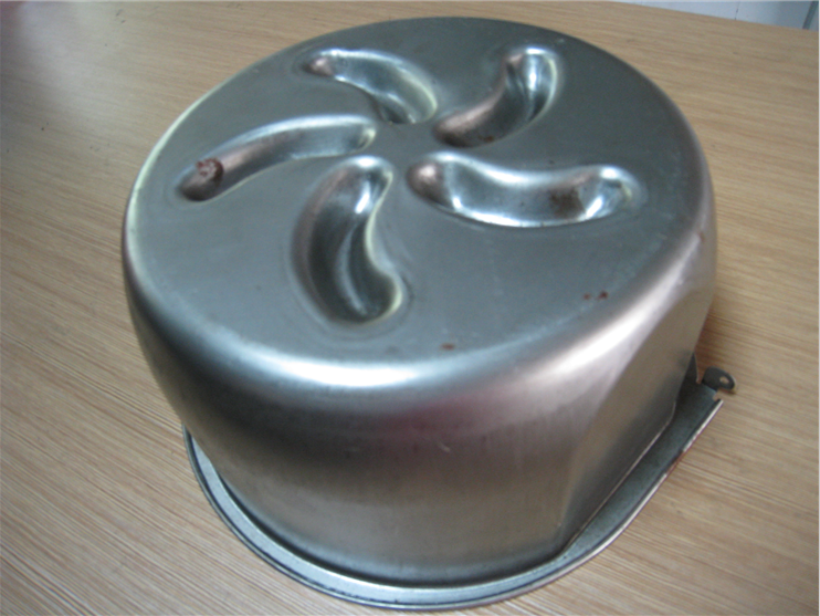 metal chrome chair base