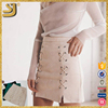 Latest Fashion Design Ladies Bodycon Shirt, Casual Office Woman Suit Midi Pencil Skirt