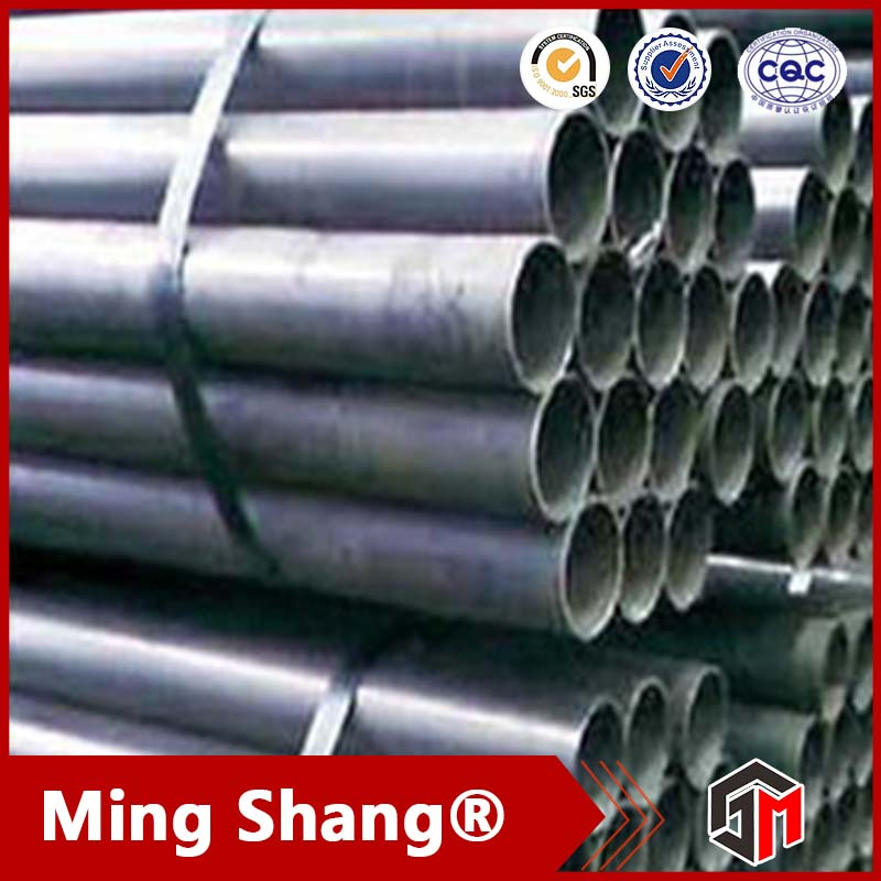 Factory direct sale galvanized steel water pipe sizes