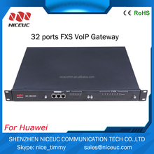 Competitive price 32 ports FXO/ FXS VOIP gateway -based voice and fax gateway