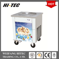 2017 Hot Sale Ice Cream Cold Plate Machine With Single Pan 45cm