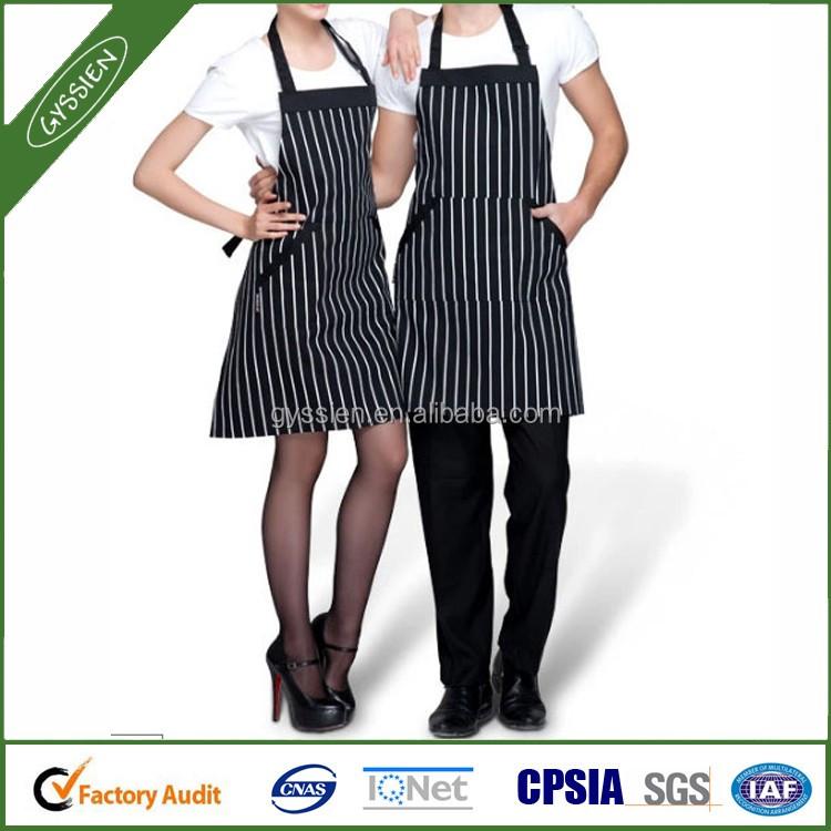 black and white stripe design kitchen apron buy kitchen