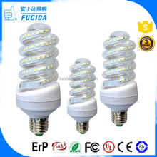 free sample led lamp Spiral LED Corn Bulb energy saving 30w E27 led bulb B22 light led bulbs