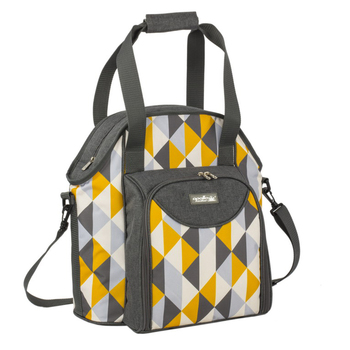 2 Person Picnic Bag with cooler compartment/carry handle