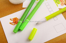 2015 most populat silicone pen plant shaped kinds of silicone pens colorful special silicone pens