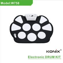 Kids Baby Musical Toys Flexible drum kit New born baby set hang drum sales 10 piece drum set music schoolBaby