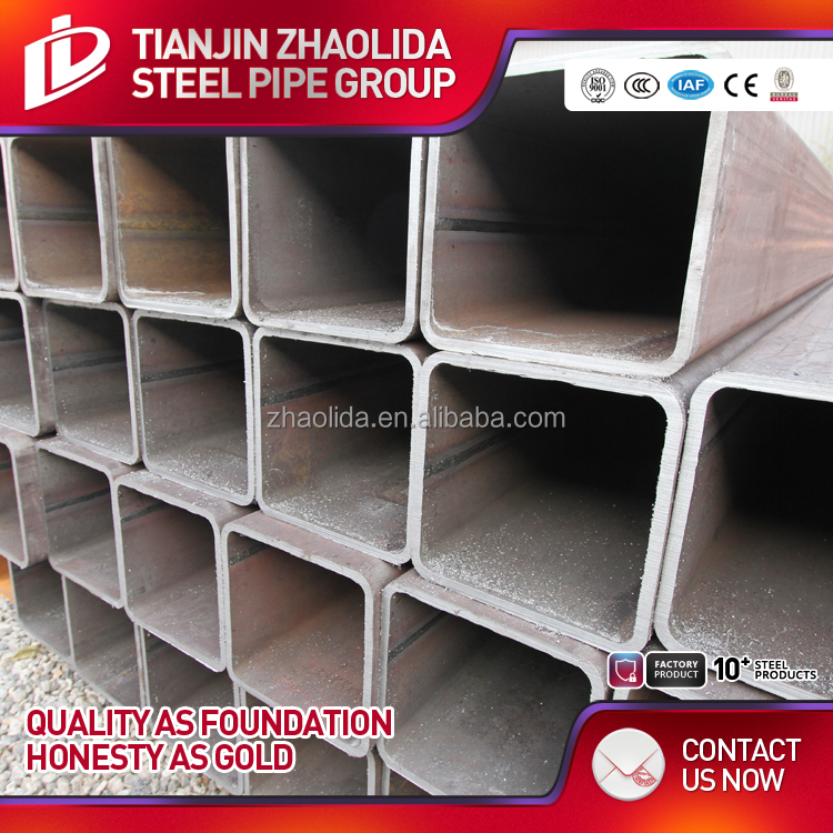 black square and rectangular steel hollow section astm a500 pipe sizes