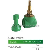 PPR brass stem gate valve