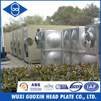 Stainless Steel 316 Water Tank for mineral drinking water