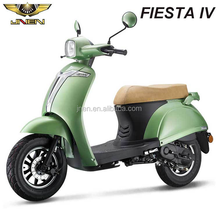 FIESTA4 125CC JNEN Motor 2016 Vespa Design Classic Lady Model Gasoline Scooter Motorcycle With EEC DOT Euro 2 CDI Fly Shark