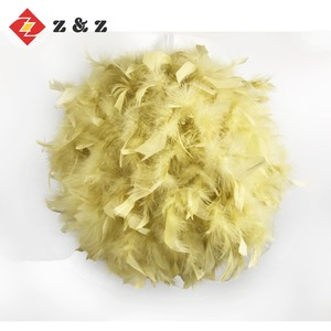 SHOPPING MALL INTERIOR LARGE FEATHER CHRISTMAS BALL /FESTIVAL DECORATION