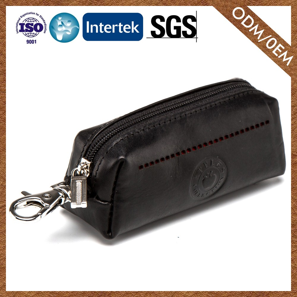 Factory Direct Sales Latest Customized Logo Printed Quality Assured Leather Purse For Women