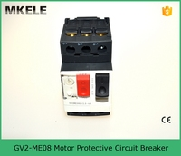 GV2-ME08 Electric Motor Circuit Breaker with Thermal Magnetic Protection GV2-ME08 Current 2.5-4A Beakers