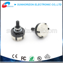 1 Pole 12 Position and 2 Pole 6 Position Single Wafer Band Selector Rotary Switch