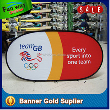 Promotional Pop up A frame banner