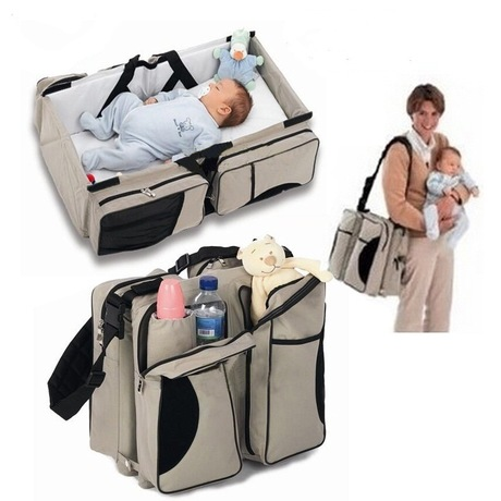 2016 Xiamen Travel Infant Bed Baby Changing bags, Diaper Organizer Bags