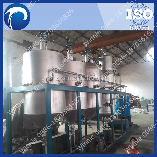 Palm oil refining machine/palm oil refinery plant/palm oil fractionation machine