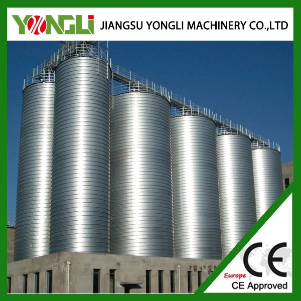 High quality welded steel professional automatic silo for paddy storage