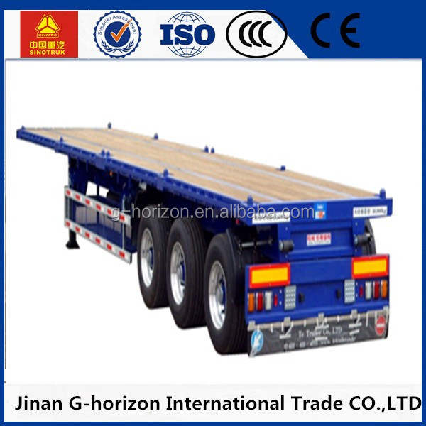 New High Quality electric vehicle/ Flat Bed Semi Trailer with Side Wall/Side Panel Cargo Trailer