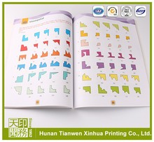 Good softcover creative children book printing