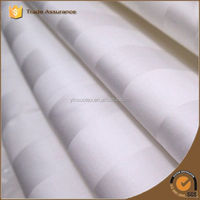 3CM stripe cotton fabric for hotel hospital