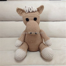 Crochet stuffed Donkey toys